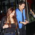 Exclusif - Mariah Carey est allée diner avec Bryan Tanaka (son danseur sur scène) au restaurant Berris à West Hollywood. Depuis sa séparation officielle du 27 octobre 2016 avec son ex compagnon James Packer, Mariah semble passer beaucoup de temps avec ce nouveau compagnon… Le 2 novembre 2016