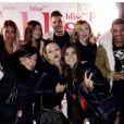 Maéva en voyage à Marrakech avec Marvin, et plein de candidats de télé-réalité, novembre 2016