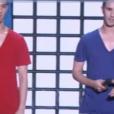 """Les French Twins font sensation dans """"Incroyable Talent"""" sur M6, le 6 décembre 2016."""