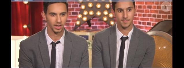 """Les French Twins dans """"Incroyable Talent 2016"""" le 6 décembre 2016 sur M6."""