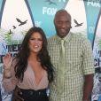 Khloé Kardashian et Lamar Odom aux Teen Choice Awards à Los Angeles, le 8 août 2010