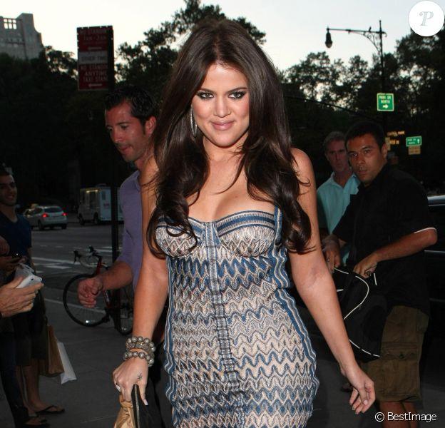 Khloé Kardashian dans les rues de New York, le 14 août 2010