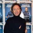 """Exclusif - Stéphane Bern - Générale du spectacle """"Histoires"""" de Franck Ferrand au théâtre Antoine à Paris le 5 décembre 2016. © Coadic Guirec/Bestimage"""