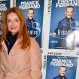 """Exclusif - Cyrielle Clair - Générale du spectacle """"Histoires"""" de Franck Ferrand au théâtre Antoine à Paris le 5 décembre 2016. © Coadic Guirec/Bestimage"""