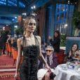 Lily-Rose Depp au défilé Chanel Métiers d'Art 2016/2017 à l'hôtel Ritz à Paris le 6 décembre 2016. © Olivier Borde / Bestimage 'Chanel