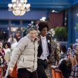 """Mannequin lors du défilé Chanel """"Métiers d'Art 2016/2017"""" à l'hôtel Ritz à Paris le 6 décembre 2016. © Olivier Borde / Bestimage  'Chanel Collection des Metiers d'Art 2016/17 : Paris Cosmopolite' show at the Ritz Hotel in Paris, France on December 6, 2016.06/12/2016 -"""