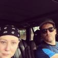 Shannen Doherty est allé jouer au tennis avec son mari Kurt. Photo publiée sur Instagram à la fin du mois de novembre 2016