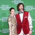 T.J. Miller et sa femme Kate Gorneyà l'avant-première du film Joyeux Bordel le 7 décembre 2016 à Los Angeles