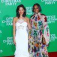 Olivia Munn et kelly Rowlandà l'avant-première du film Joyeux Bordel le 7 décembre 2016 à Los Angeles