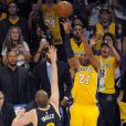Kobe Bryant lors du match Los Angeles Lakers - Utah Jazz au Staples Center. Los Angeles, le 13 avril 2016.