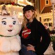 Daphné Burki - People au Noël de Disneyland Paris. Le 9 novembre 2016 © Disneyland Paris via Bestimage