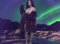 Kim Kardashian : De retour sur les réseaux sociaux, en lingerie et fourrure