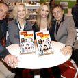 David Brécourt, Marie Christine Adam, Tonya Kinzinger et Frédéric Deban au Salon du Livre 2016