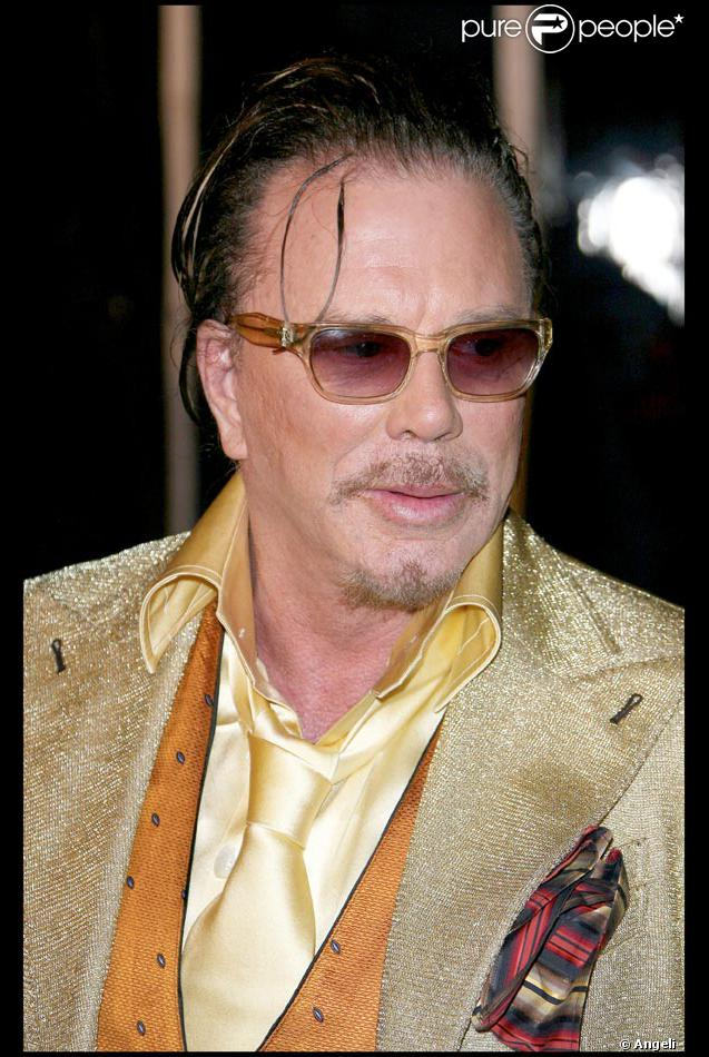Mickey Rourke - Picture Colection