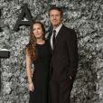 """Edward Norton et sa femme Shauna Robertson à la première de """"Collateral Beauty"""" au cinéma Vue à Londres, le 15 décembre 2016."""