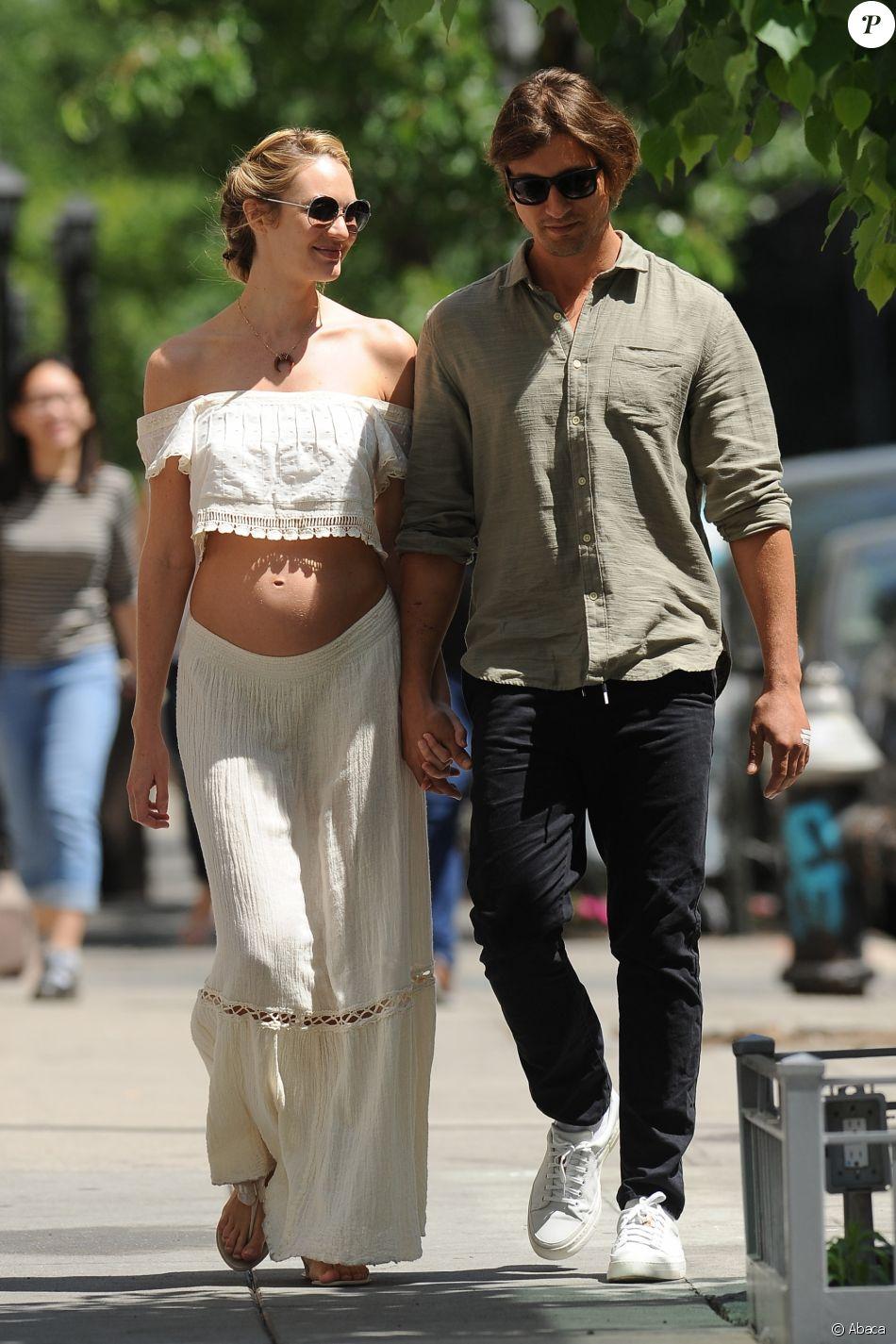 Candice Swanepoel et Hermann Nicoli à New York, le 20 mai ...