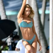 Victoria's Secret : Stella, Romee et Elsa, trio craquant sous le soleil