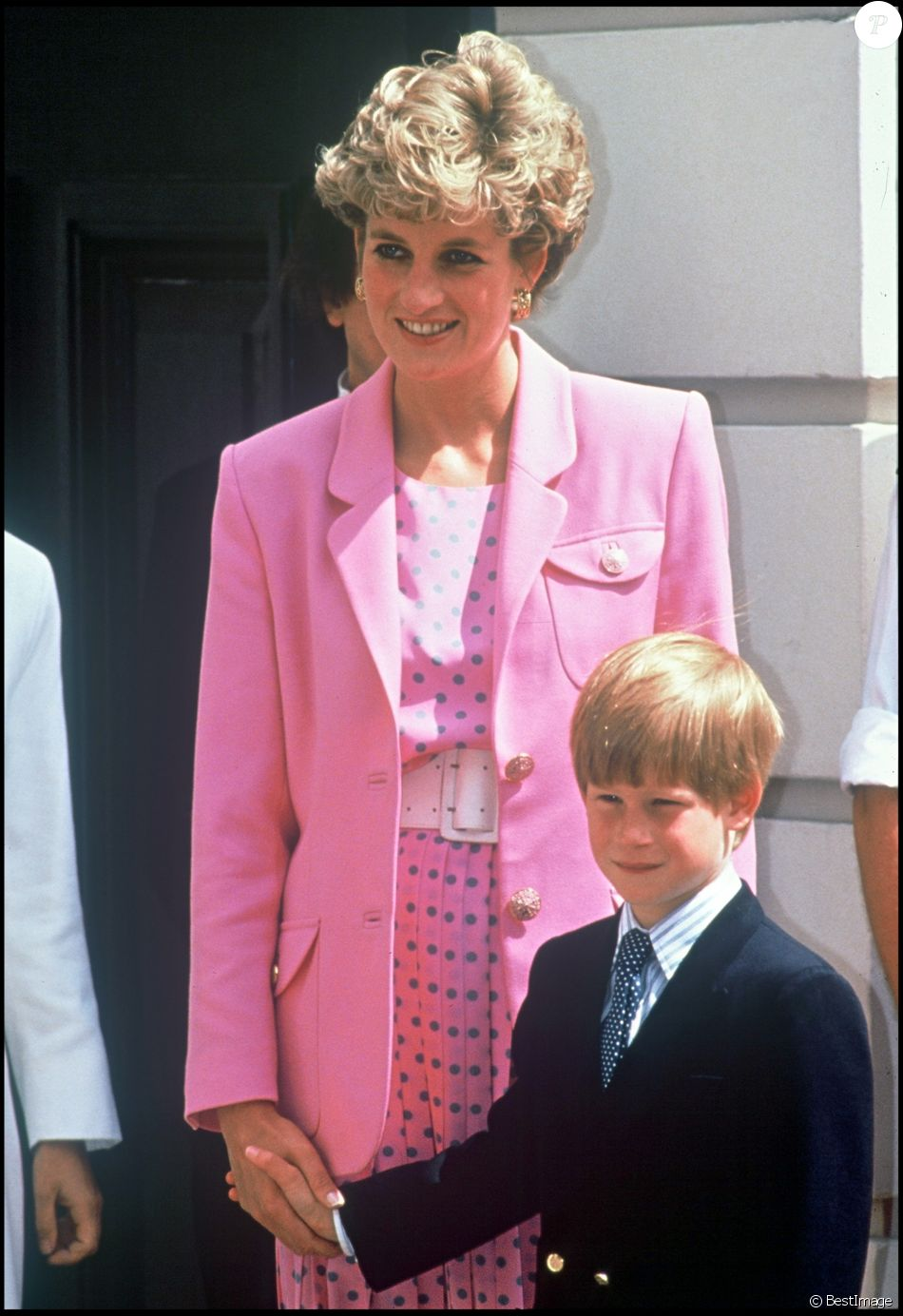 archives la princesse diana d 39 angleterre et le prince harry lors du 92 eme anniversaire de la. Black Bedroom Furniture Sets. Home Design Ideas