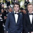 """Alex Lutz et Bruno Sanches - Montée des marches du film """"Mia Madre"""" (Ma Mère) lors du 68 ème Festival International du Film de Cannes, à Cannes le 16 mai 2015."""