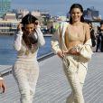 Kim Kardashian et Kendall Jenner à New York le 7 septembre 2016.