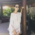 Joyce Jonathan en vacances en Asie. Photo postée sur Instagram le 27 décembre 2016.