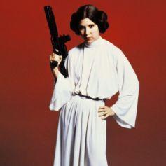 Compilation des meilleures scènes de Carrie Fisher/Leia dans la saga Star Wars