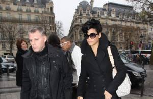 PHOTOS : Quand Rihanna et Chris Brown, amoureux, font leurs courses de Noël et des... grimaces à Paris !