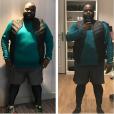 """Issa Doumbia avec 23 kilos en moins. Novembre 2016."""