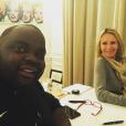 """""""Issa Doumbia multiplie les séances de sport afin de perdre du poids et suit les conseils d'une   nutritionniste  . Décembre 2016."""""""