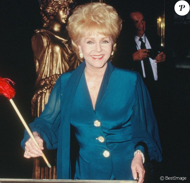 Debbie Reynolds inaugure un musée à Las Vegas dans les années 1990. A cette époque, elle est mariée à Richard Hamlett