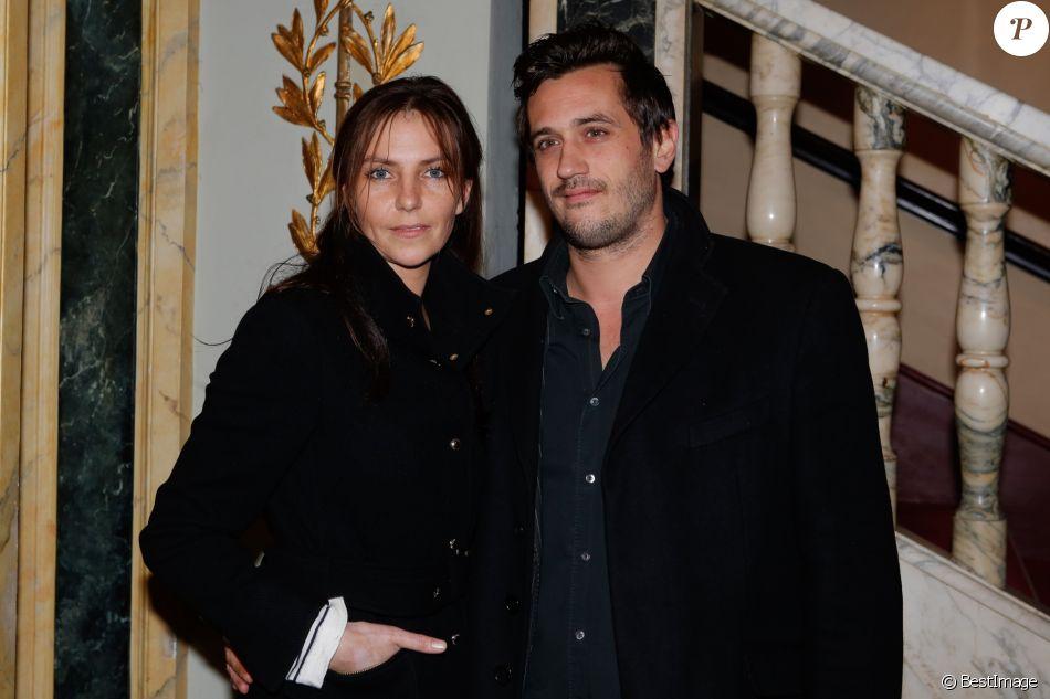 Carole Bianic, Vincent Giovanni - Prix du producteur français de télévision au Théâtre Mogador à Paris, le 15 décembre 2014.