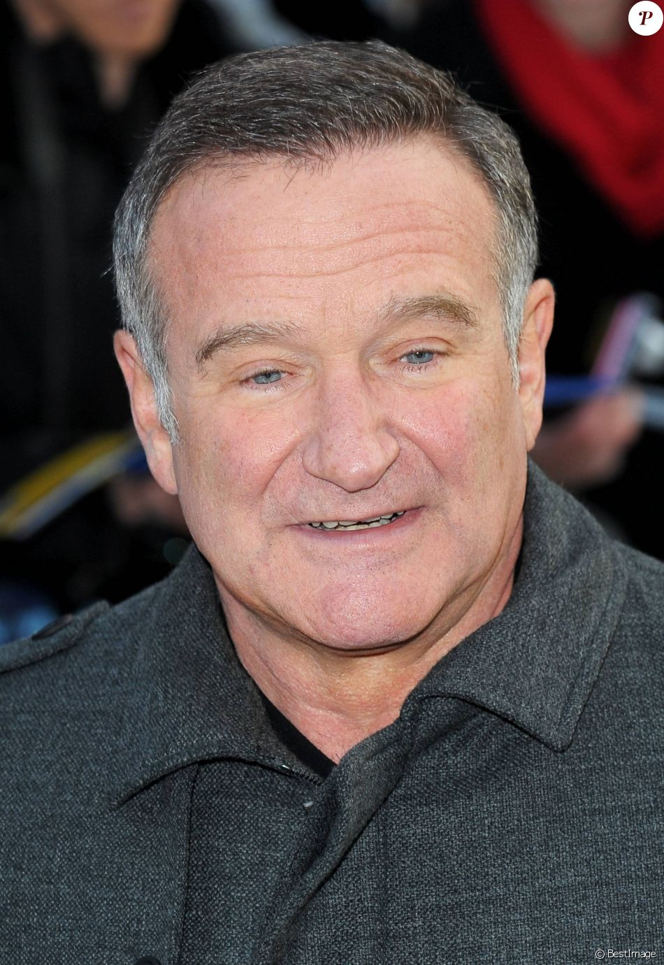 Robin Williams à Londres e 20 novembre 2011.