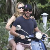 Heather Graham in love : Balades à moto et virées farniente à la plage