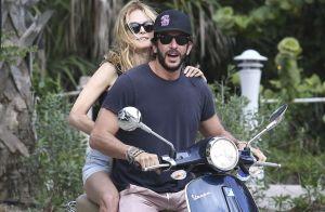 Heather Graham in love : Balades à moto et virées farniente à la plage