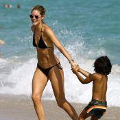 Doutzen Kroes : Maman sexy en vacances avec ses enfants