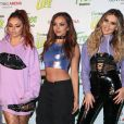 Perrie Edwards, Jesy Nelson, Jade Thirlwall et Leigh-Anne Pinnock du groupe Little Mix au Concert Free Radio Live à Birmingham le 26 novembre 2016 Free Radio Live event at the Genting Arena in Birmingham 26 November 2016.