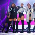 """Jade Thirlwall, Perrie Edwards, Jesy Nelson et Leigh Anne Pinnock (Little Mix) aux """"BBC Radio 1's Teen Awards"""" à Londres. Le 23 octobre 2016"""