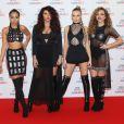 Leigh-Anne Pinnock, Jesy Nelson, Perrie Edwards et Jade Thirlwall (Little Mix) à la Soirée des BBC Music Awards 2015 à Birmingham. Le 10 décembre 2015