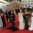 Little Mix (Jesy Nelson, Perrie Edwards, Jade Thirlwall and Leigh-Anne Pinnock) à la soirée Glamour Women Of The Year Awards 2016 à Londres, le 7 juin 2016 © Future-Image via Bestimage