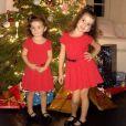 Jade Foret a partagé des photos de son Noël avec ses enfants sur Instagram. Janvier 2017. Ici, ses deux filles.
