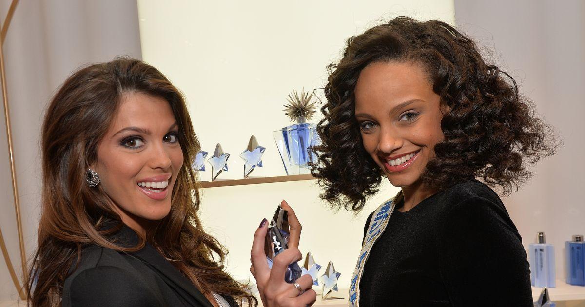 Miss france 2017 et miss france 2016 le parfum angel de thierry mugler c l bre ses 25 ans au - Miss france 2017 interview ...