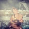""""""" Mariah Carey en vacances à Aspen. Photo publiée sur Instagram le 4 janvier 2016 """""""
