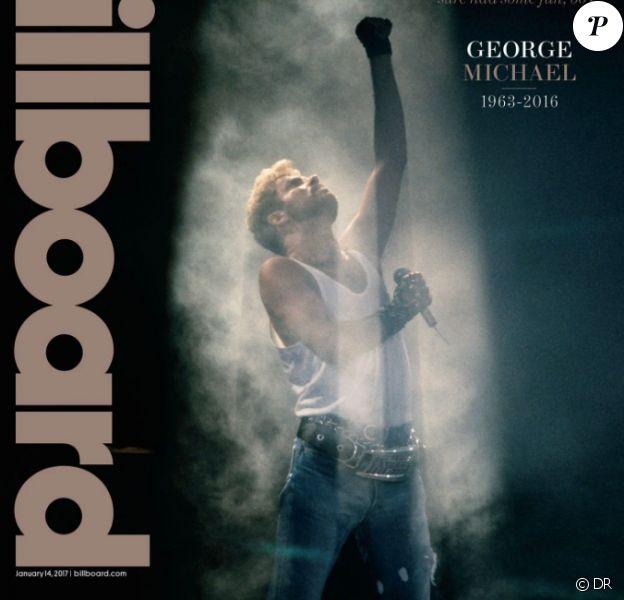 Le magazine Billboard consacre son dernier numéro à la mort de George Michael. Sortie dans les kiosques en janvier 2017