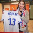 """""""Alex Morgan et son arrivée à l'Olympique lyonnais. Janvier 2017."""""""