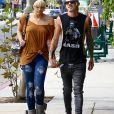 """""""Exclusif - Paris Jackson et son petit ami Michael Snoddy se baladent en amoureux dans les rues de Los Angeles, le 11 octobre 2016"""""""