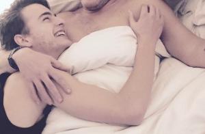 Benjamin Castaldi : Photo rare d'un moment de tendresse avec son fils, Simon