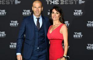 Zinedine Zidane élégant et sa femme Véronique flamboyante pour les FIFA Awards