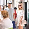 """Ivanka Trump et son mari Jared Kushner se baladent à Dubrovnik le 12 août 2016."""