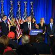 Donald Trump en meeting à Briarcliff Manor, État de New York le 7 juin 2016. © Agence/Bestimage