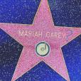 L'étoile de Mariah Carey vandalisée sur Hollywood Boulevard au cours du week-end du 7 et 8 janvier 2017. Photo publiée sur Instagram